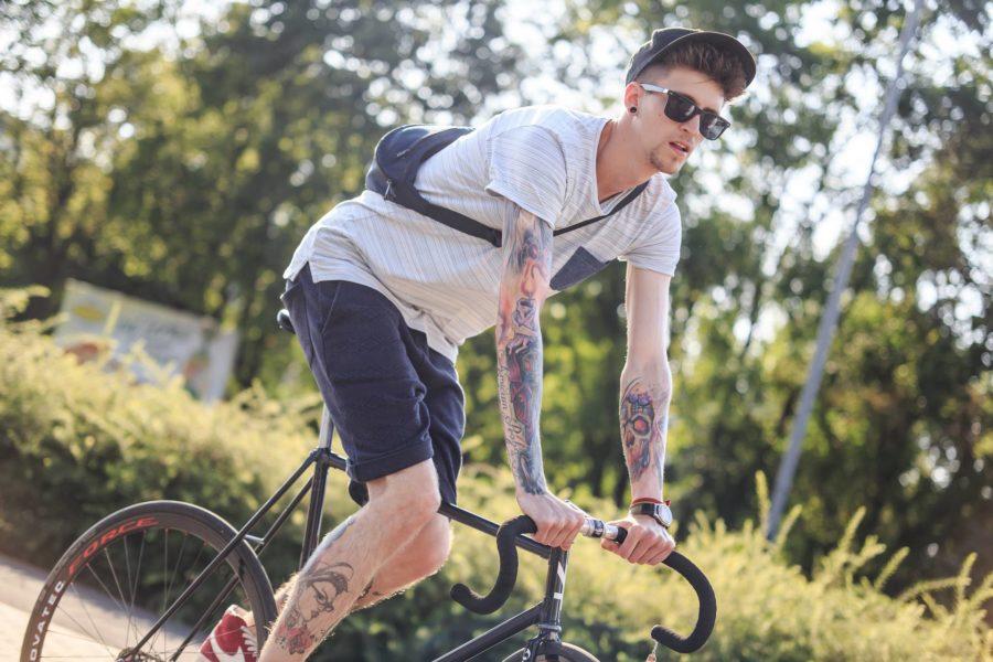 Miejska sesja lifestyle`owa dla Bike Workshop