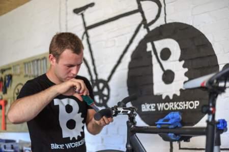 Sesja promocyjna dla marki Bike Workshop