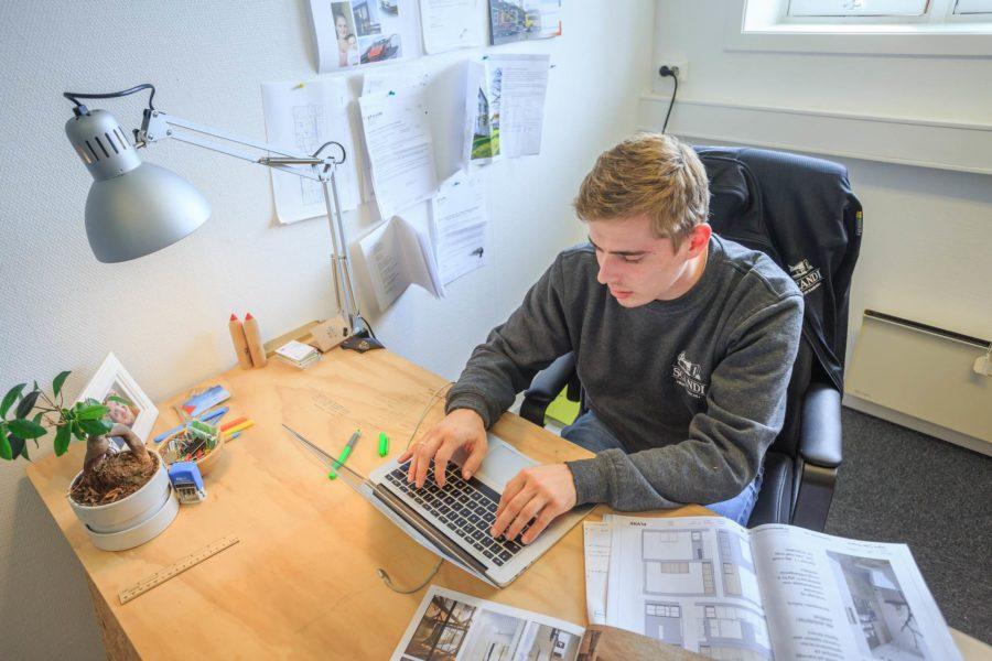 Reportaż z siedziby firmy Scandi Hus og Hage