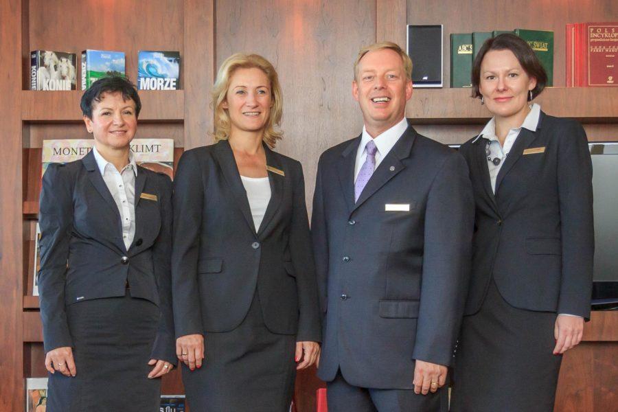 Sesja wizerunkowa kadry menadżerskiej hotelu Sheraton Poznań