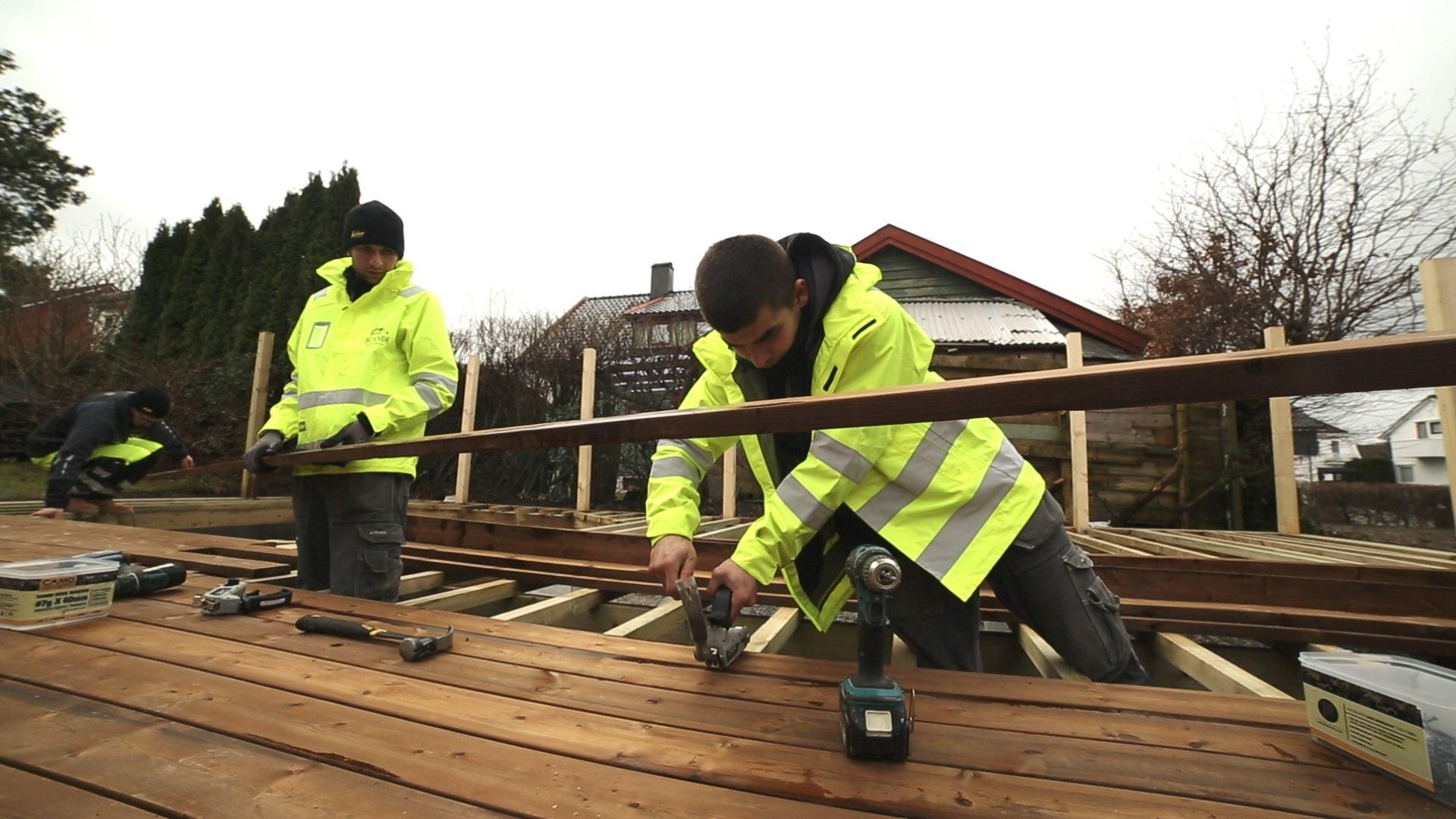 Film promocyjny firmy budowlanej Scandi Hus og Hage