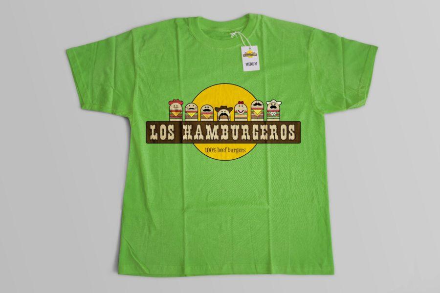 Koszulka firmowa marki Los Hamburgeros