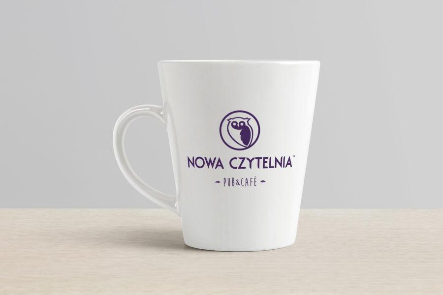 Kubek klubokawiarni Nowa Czytelnia