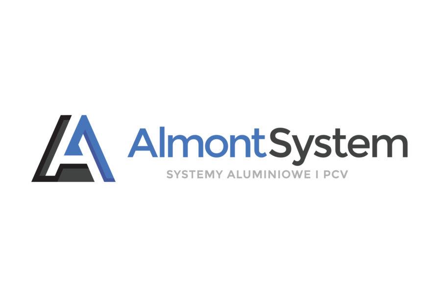 Koncepcja logotypu dla firmy Almont System
