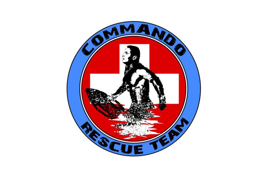 Logotyp grupy ratowniczej Commando Rescue Team