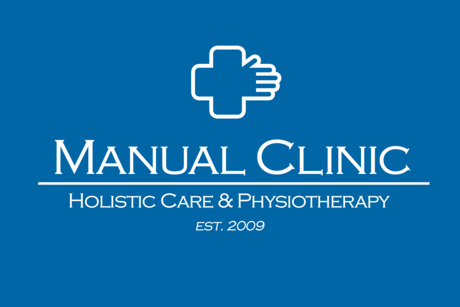 Logotyp kliniki fizjoterapii Manual Clinic