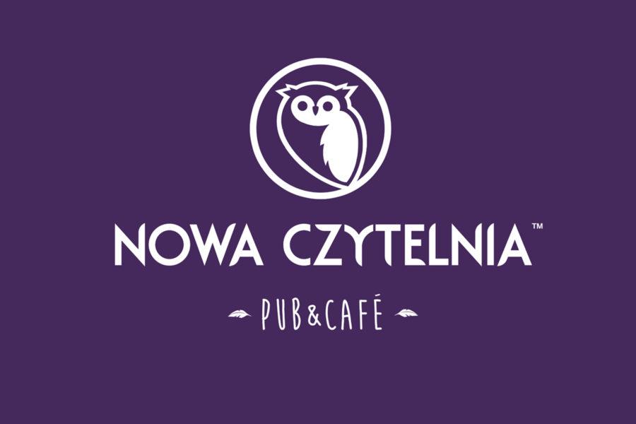 Logotyp klubokawiarni Nowa Czytelnia
