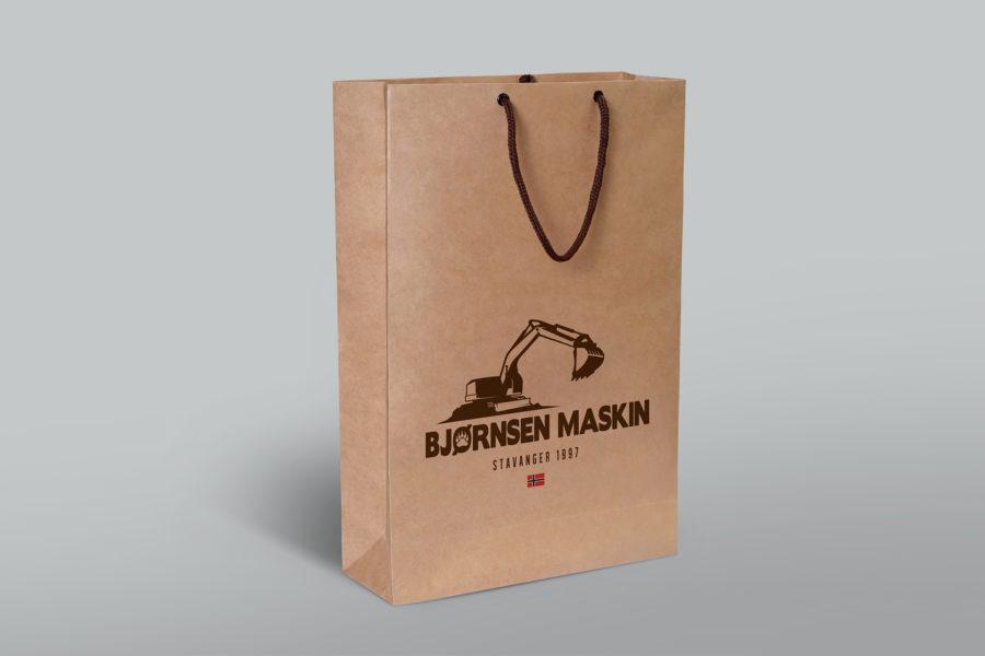Torba firmowa marki Bjørnsen Maskin