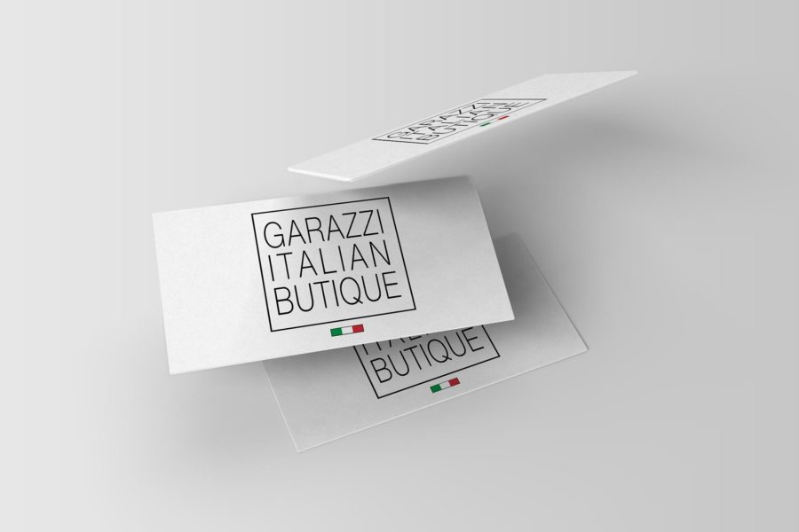 Wizytówka firmy Garazzi
