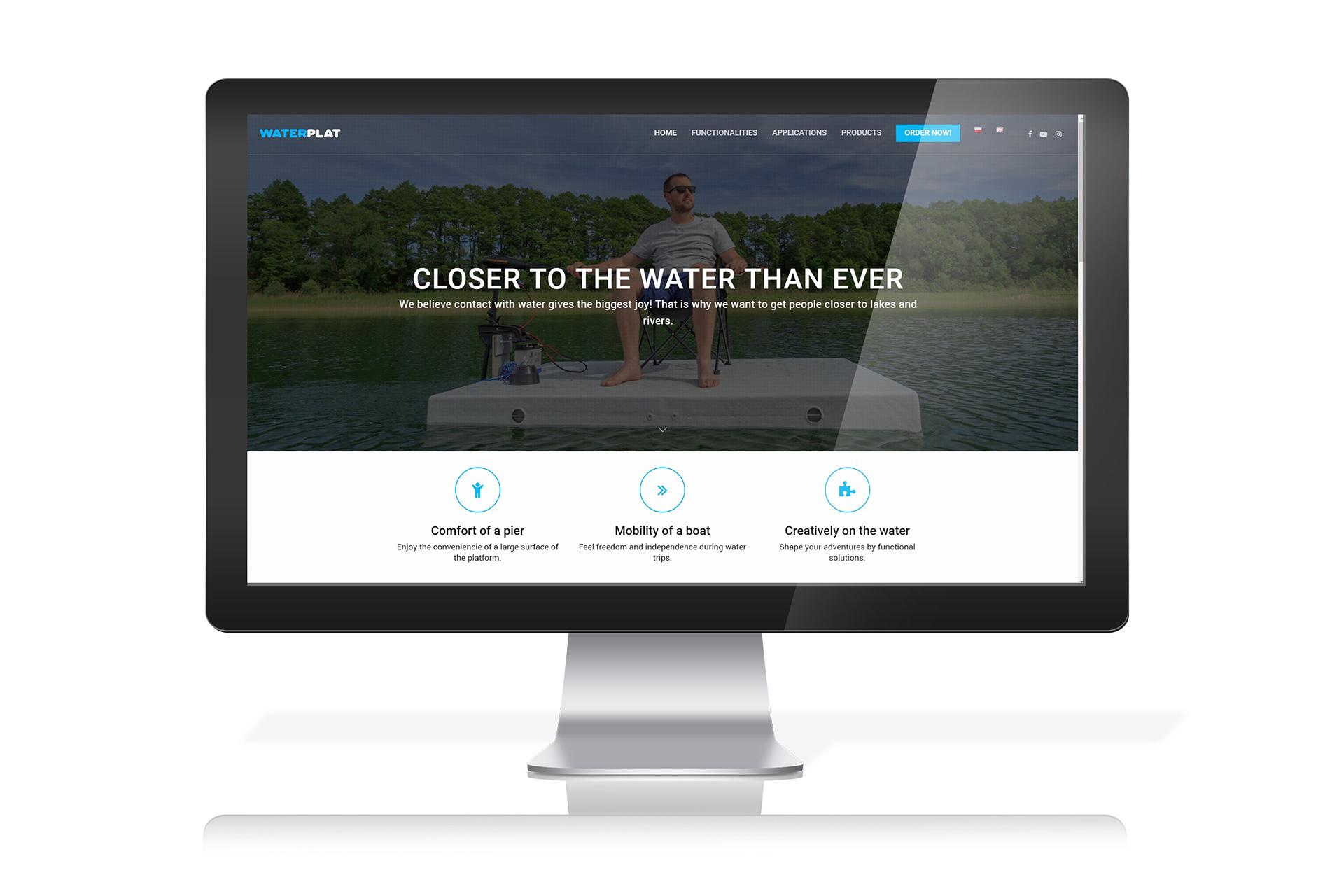 Producent wielofunkcyjnych platform wodnych WaterPlat