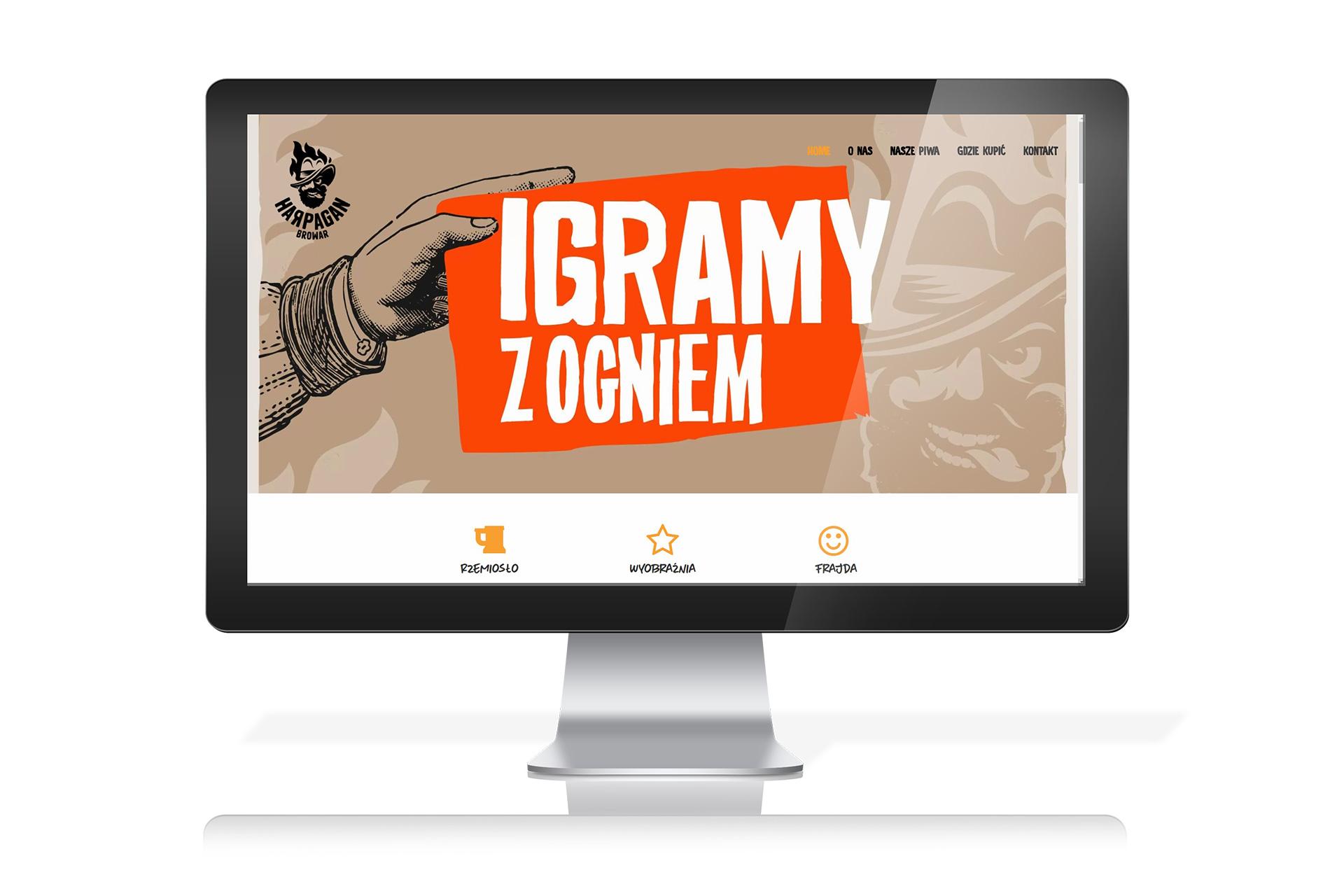 Oficjalna strona Browaru Harpagan